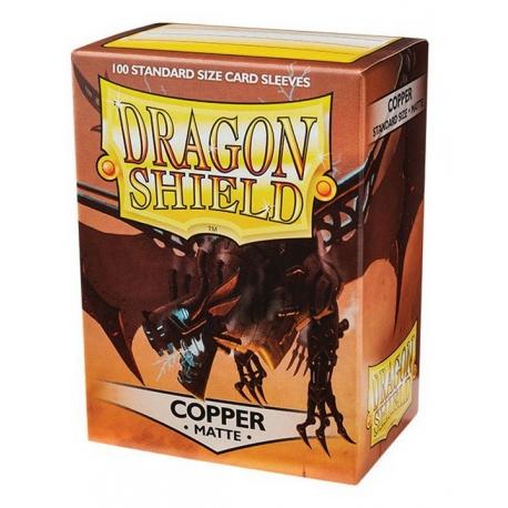 Dragon Shield protectors Copper (100 pcs.) (AT-110)