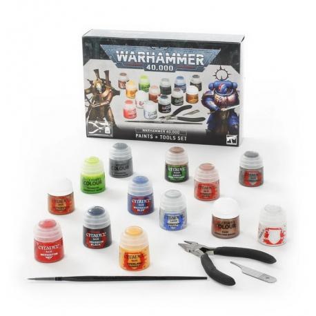 Warhammer 40,000 Citadel Essentials Set (60-12-60)