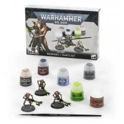 Necrons: Warriors + Paints Set (60-69)