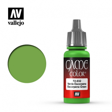Game Color Escorpena Green (72032)