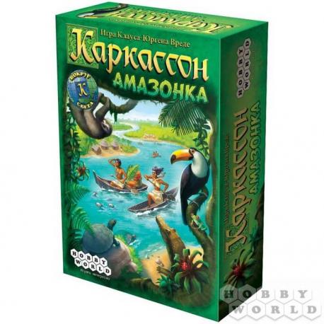 Board Game: Carcassonne. Amazon (RUS) (1730)