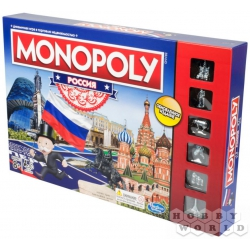 Board game: HASBRO (RUS): Monopoly Russia (new version) B7512