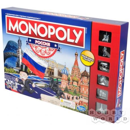 Board game: HASBRO (RUS): Monopoly Russia (new version) B7512