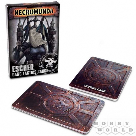 NECROMUNDA: ESCHER GANG TACTICS CARDS (300-07)