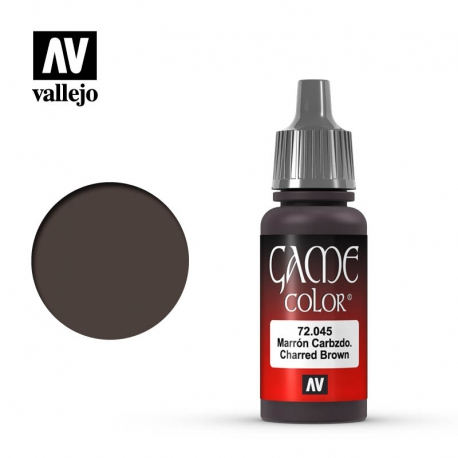 Game Color Charred Brown (72045)
