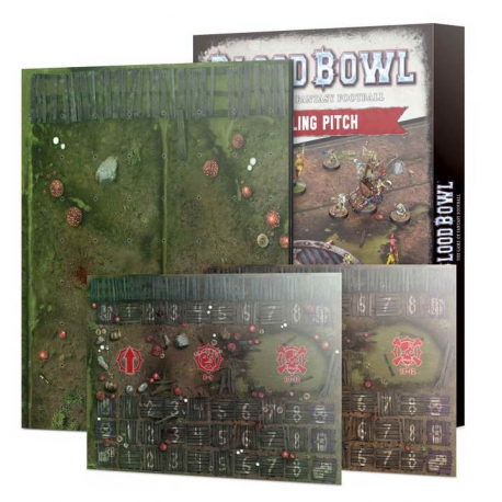 BLOOD BOWL SNOTLING TEAM PITCH & DUGOUTS (202-03)