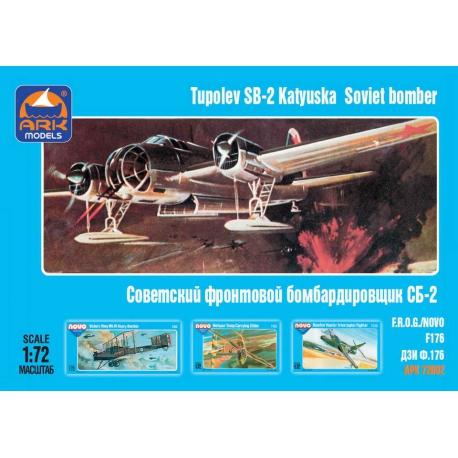 Soviet front-line bomber SB-2 (72002)