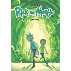 """Book """"Рик и Морти. Книга 1"""" (396204)"""
