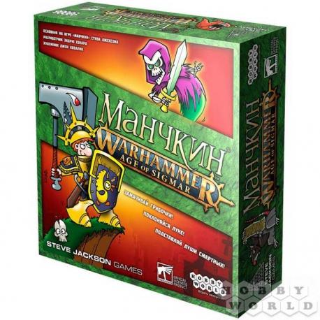 Настольная игра: Манчкин Warhammer Age of Sigmar (915302)