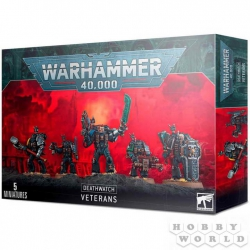 "WH40K: Deathwatch Veterans ""Ветераны Караула Смерти"" (39-10)"