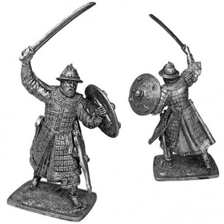 Heavily armed Mongol warrior, 13th century (Horde-04)