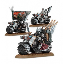 "WH40K: Dark Angels Ravenwing Command Squad ""Командное Отделение Крыла Ворона"" (44-11)"