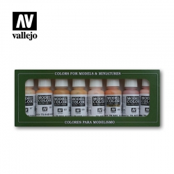 Face & Skin Tones (8 x 17 ml) (70124)