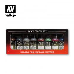 Game Color Washes (8 colors x 17 ml) (73998)