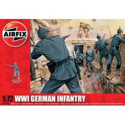 WW1 Немецкая пехота 1:72