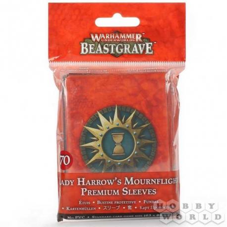 WHU: Lady Harrow's Mournflight Premium Sleeves (110-87)