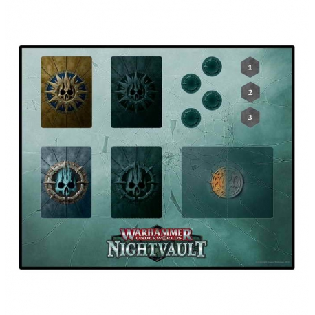 WH UNDERWORLDS: NIGHTVAULT PLAYMAT (110-40)