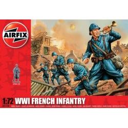 WW1 Французская пехота 1:72