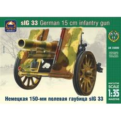 Немецкое 150-мм тяжёлое пехотное орудие sIG 33 (35009)
