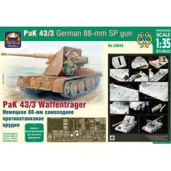 Pak 43/3 Waffentrager, версия для опытных моделистов (35043)