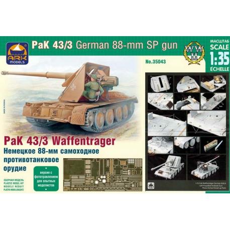Pak 43/3 Waffentrager, experienced modeler version (35043)