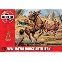 WW1 Королевская конная артиллерия 1:72