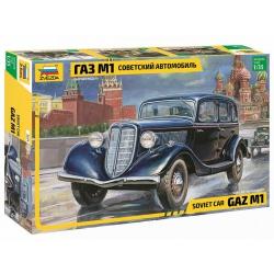 Советский автомобиль Газ М1 (3634)