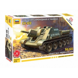Soviet self-propelled gun SU-122 (5043)