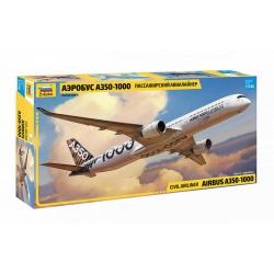 Пассажирский авиалайнер Аэробус А-350-1000 (7020)