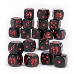 Age Of Sigmar: Soulblight Gravelords Dice Set (91-99)