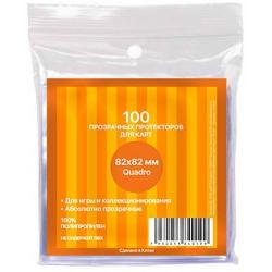 Transparent protectors Card-Pro quadro for table game (100 pcs.) 82x82 mm ()
