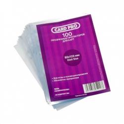 Transparent protectors Card-Pro Dixit Size for table game (100 pcs.) 82x123 mm ()