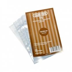Transparent protectors Card-Pro Tarot size (75 pcs.) 73x124 mm ()
