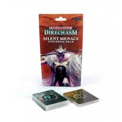 """Warhammer Underworlds: Direchasm - Комплект карточек """"Безмолвная Злоба"""" (РУС) (Silent Menace Deck) 110-16"""