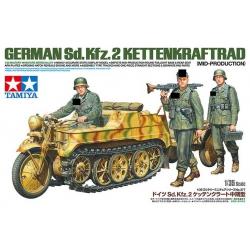1/35 Мотоцикл Kettenkraftrad Mid WWII (35377)