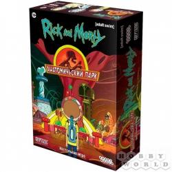 Board Game: Рик и Морти: Анатомический парк (2021) (915343)