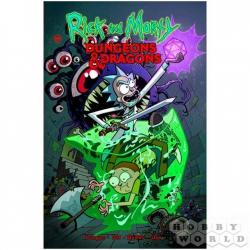 Board Game: Рик и Морти против Dungeons & Dragons (398949)