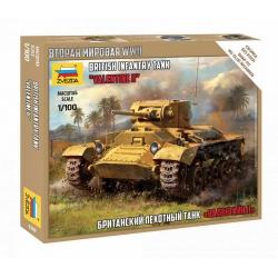 """WWII British Infantry Tank """"Valentine"""" II (6280)"""
