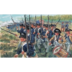Американская пехота (Война за независимость США) 1:72