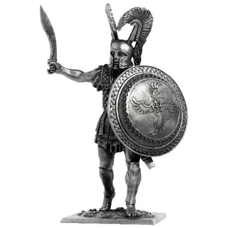 Греческий гоплит, 480 год до н.э.
