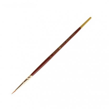 "Brush Synthetics Round ""DECOLA No. 0"", short handle (2066770)"