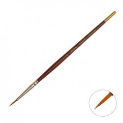 "Brush Synthetics Round ""DECOLA No. 2"", short handle (2066772)"