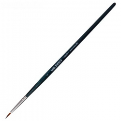 "Кисть Синтетика Круглая ""Malevich Andy №1"", короткая ручка (753001)"