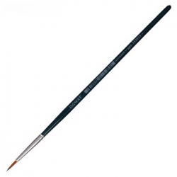 "Кисть Синтетика Круглая ""Malevich Andy №1.5"", короткая ручка (753015)"