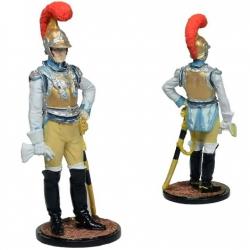Офицер 1-го Карабинерного полка. Франция, 1810-15 гг. Роспись (NAP-83c)