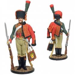 Рядовой полка Конных егерей Имп. гвардии. Франция, 1804-15 гг. (NAP-84)