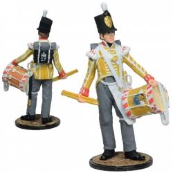 Барабанщик 27-го иннискиллингскогопехотного полка. Великобритания, 1808-13 г.г. (NAP-90)