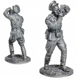 Военный фотокорреспондент, ст. лейтенант. СССР, 1943-45 гг. (WW2-70)