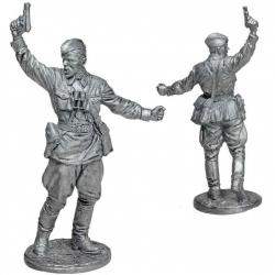Комбат, капитан пехоты Красной Армии. СССР, 1941-43 гг. (WW2-71)