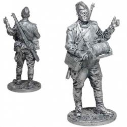 Красноармеец-связист, пехота Красной Армии. СССР, 1943-45 гг. (WW2-66)